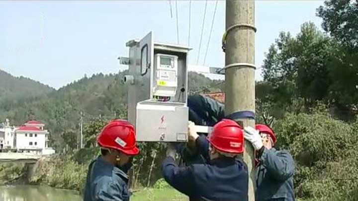 减少违章违约用电 长沙农作物种植区试点自助扫码用电装置