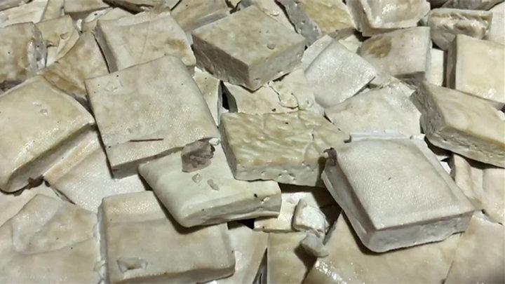 长沙一小巷内暗藏豆腐黑作坊,原料发霉无证生产,还有…