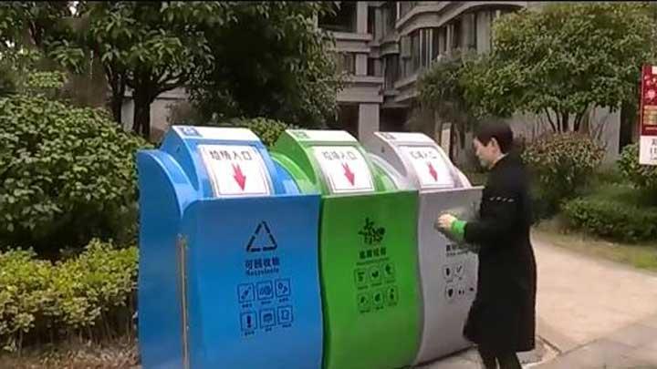 望城区垃圾分类全民参与 让环境更洁净