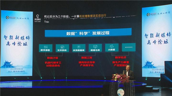 2019岳麓峰会举行智能新媒体专场分论坛