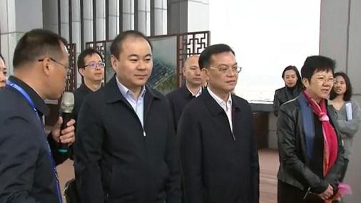 朱健调研长沙黄花综合保税区