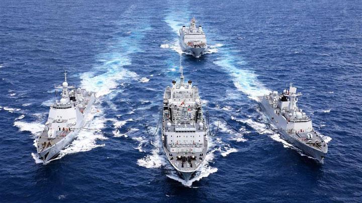 党中央、中央军委和习主席关心人民海军建设发展纪实