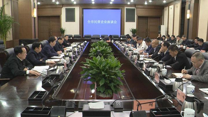 胡衡华邀请民营企业家代表座谈交流:让民营经济在长沙发展如鱼得水