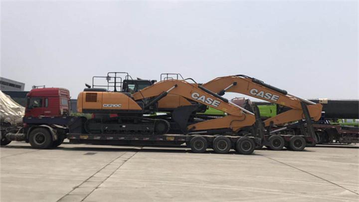 长沙国际工程机械展 | 首个海外展商美国凯斯进场布展系首次国内亮相