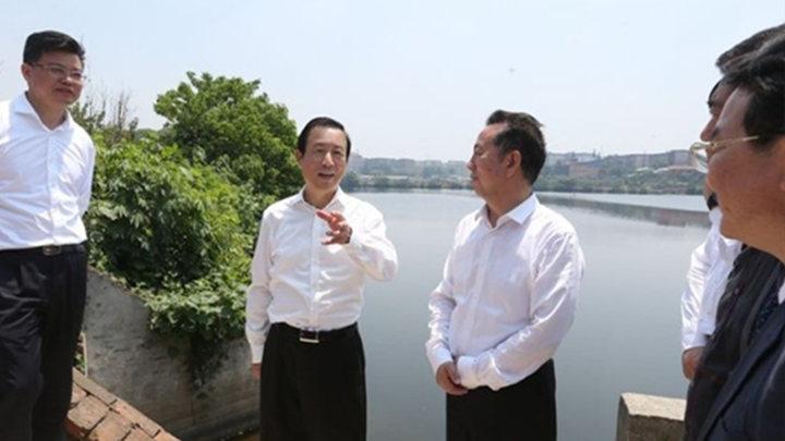 许达哲赴岳阳督办调研中央生态环保督察问题整改工作
