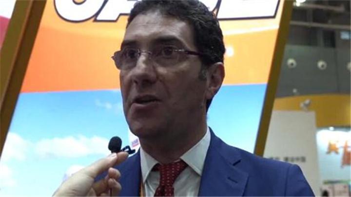 美国凯斯Matteo Calo:长沙国际工程机械展览会达到了国际水平