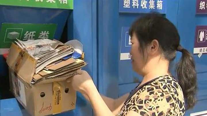 望城:垃圾分类逐渐成为市民生活习惯