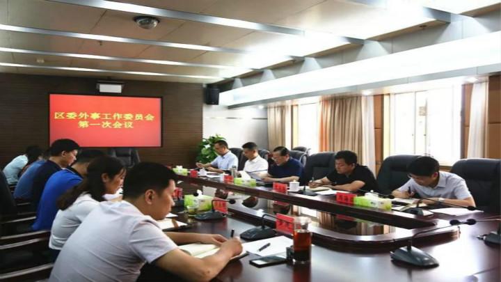 区委外事工作委员会第一次会议召开
