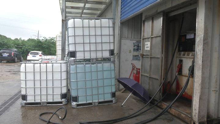 长沙一快递公司内建了个加油站,员工吓破了胆!被相关部门责令关停