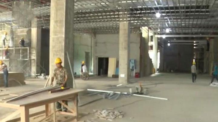 浏阳三馆合建项目进展顺利 图书馆10月1日开馆