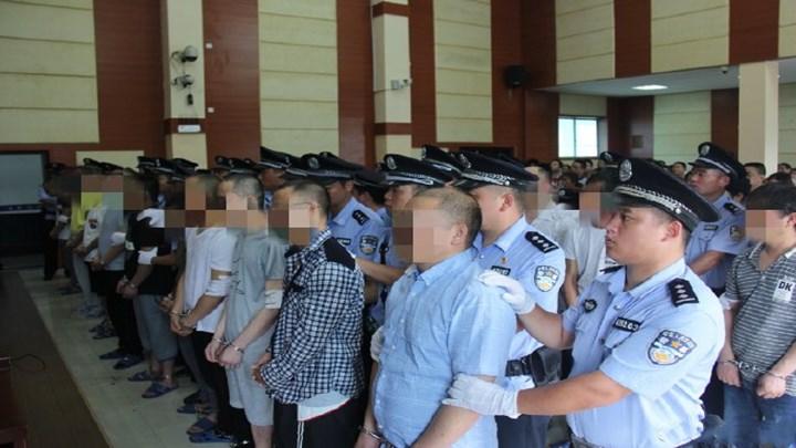 20人制造、运输毒品超1吨 5名主犯获死刑