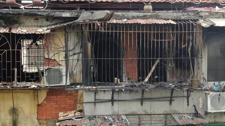6楼家中起火,绝望中夫妻用身体挡火护住小女儿!妈妈不幸身亡……