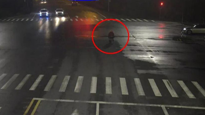 男子闯红灯被撞,家属要求汽车担责,交警霸气回怼