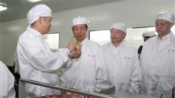 许达哲在衡阳调研并主持召开湘南片区座谈会