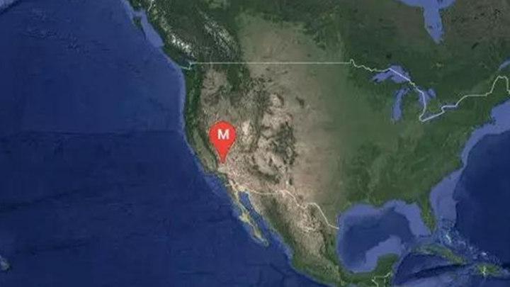 正式测定:美加利福尼亚州发生6.9级地震,震源深度10千米
