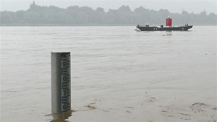 受上游降雨影响 湘江水位上涨1.2米