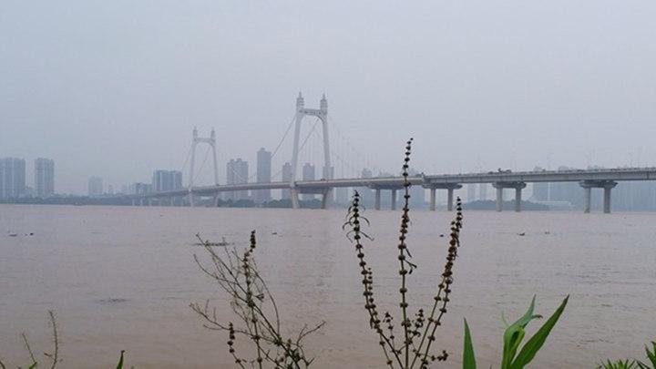 最新!湘江长沙站水位36.55米 超警戒水位0.55米