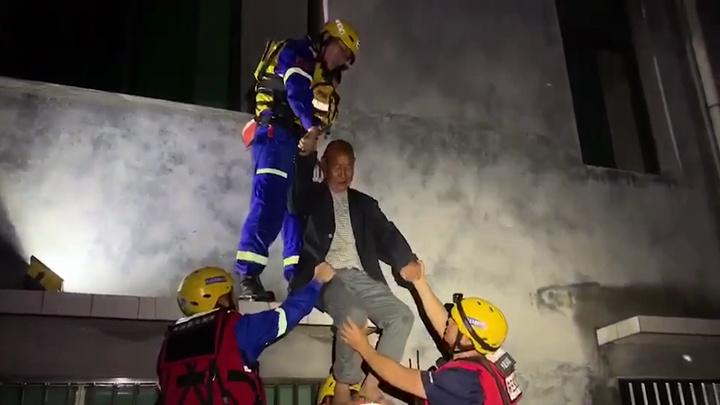 长沙蓝天救援队已赶赴株洲醴陵进行群众转移