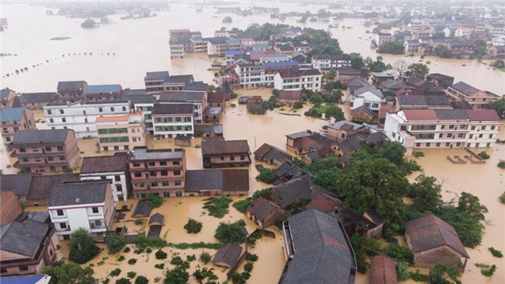 最强暴雨来袭 湖南9市49县市区不同程度受灾