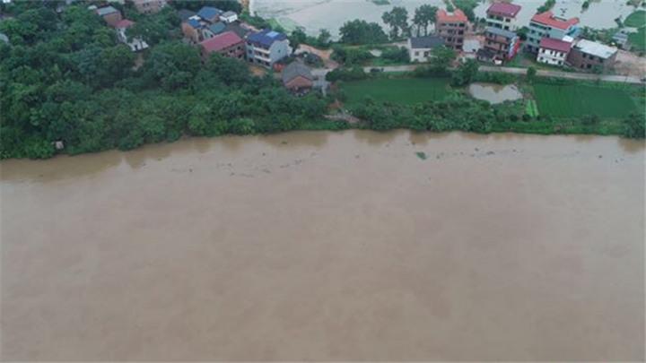 衡阳各河流水位回落 预计12日全线退出警戒水位
