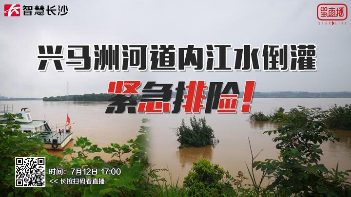 兴马洲河道内江水倒灌,紧急排险!