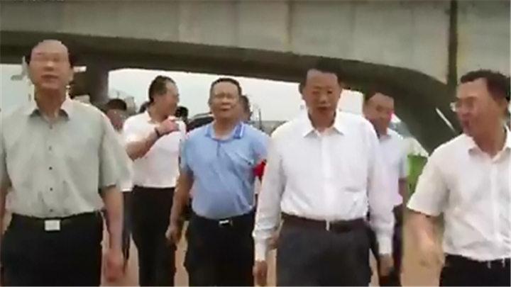 市领导赴长沙县检查指导防汛工作