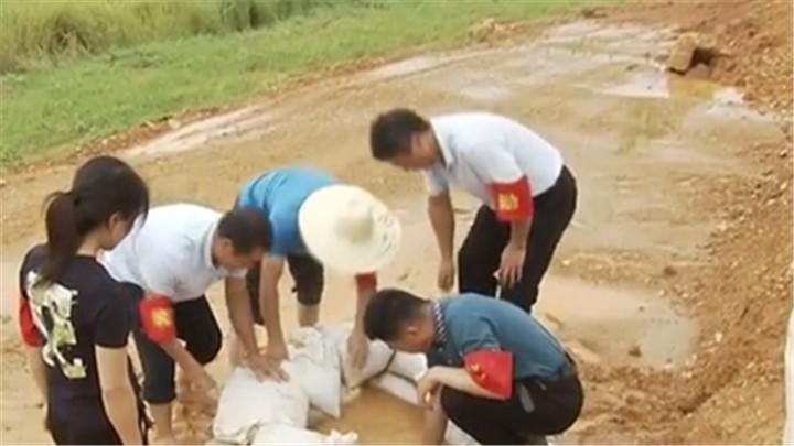 长沙县安沙镇:取消周末 积极备汛