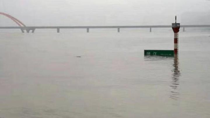 今年长江1号洪水在长江中下游正式形成