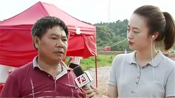 4G连线丨记者直击浏阳河曙光垸防汛一线