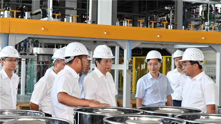 胡衡华调研先进储能材料产业链工作