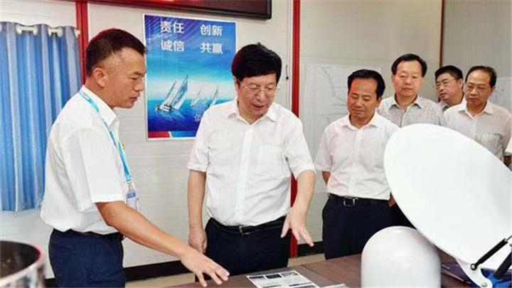 胡衡华调研航空航天(含北斗)产业链工作