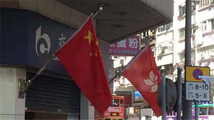 """香港市民的""""朋友圈""""都在发什么"""