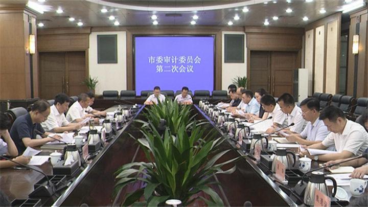 市委审计委员会第二次会议召开,胡衡华胡忠雄出席