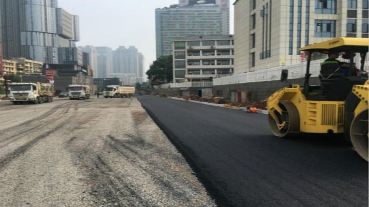 太平路(解放西路-人民路)项目建设加速推进