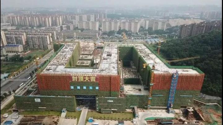 湘雅五医院南栋主体结构全面封顶