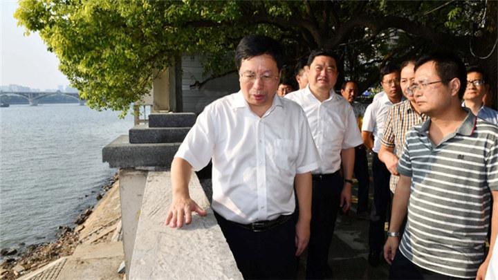 胡衡华:以崭新面貌良好形象迎接新中国成立70周年