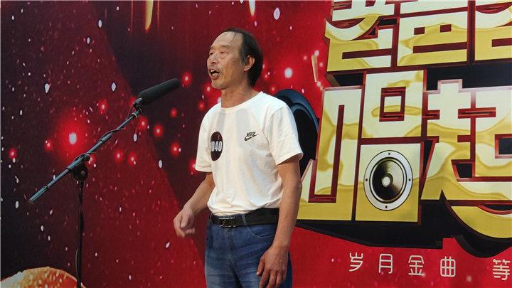 骏丰频谱老爸老妈唱起来:1040号选手金小林