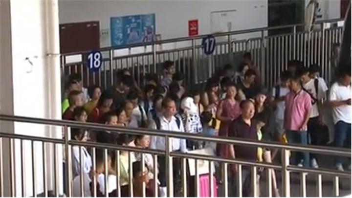 中秋节长沙汽车南站客流平稳:车站备多批次加班车辆确保市民出行