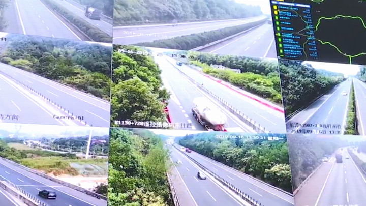 全省高速中秋假期出入口总流量达673.97万辆