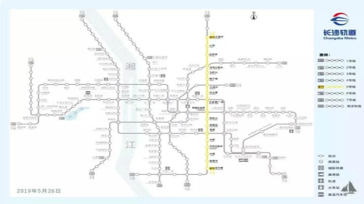 好消息!长沙地铁5号线年底试运行,经过雨花这些地方