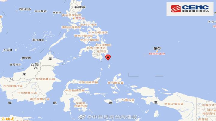 菲律宾棉兰老岛附近发生6.2级左右地震