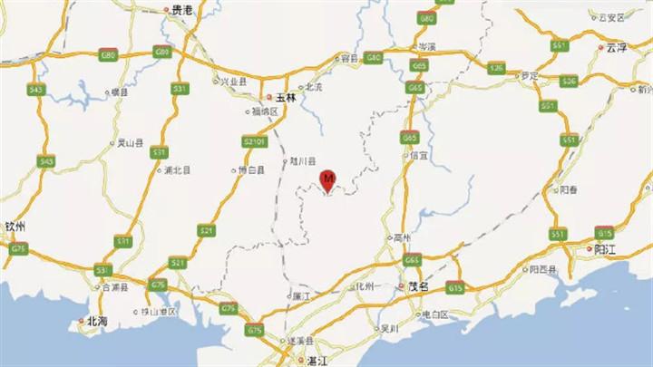 揪心!广西玉林市北流市发生5.2级地震