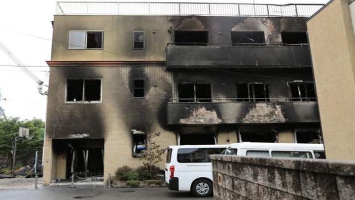 """日本 """"京都动画""""起火建筑将被拆除,前期工程25日开始"""