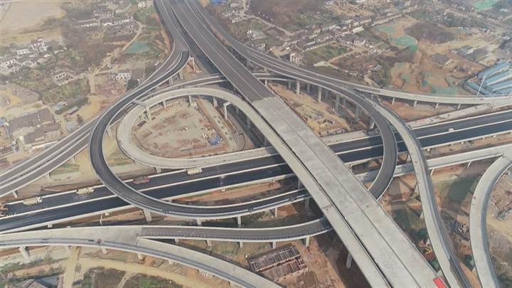 湘府路快速化改造武广高铁以东主体完工