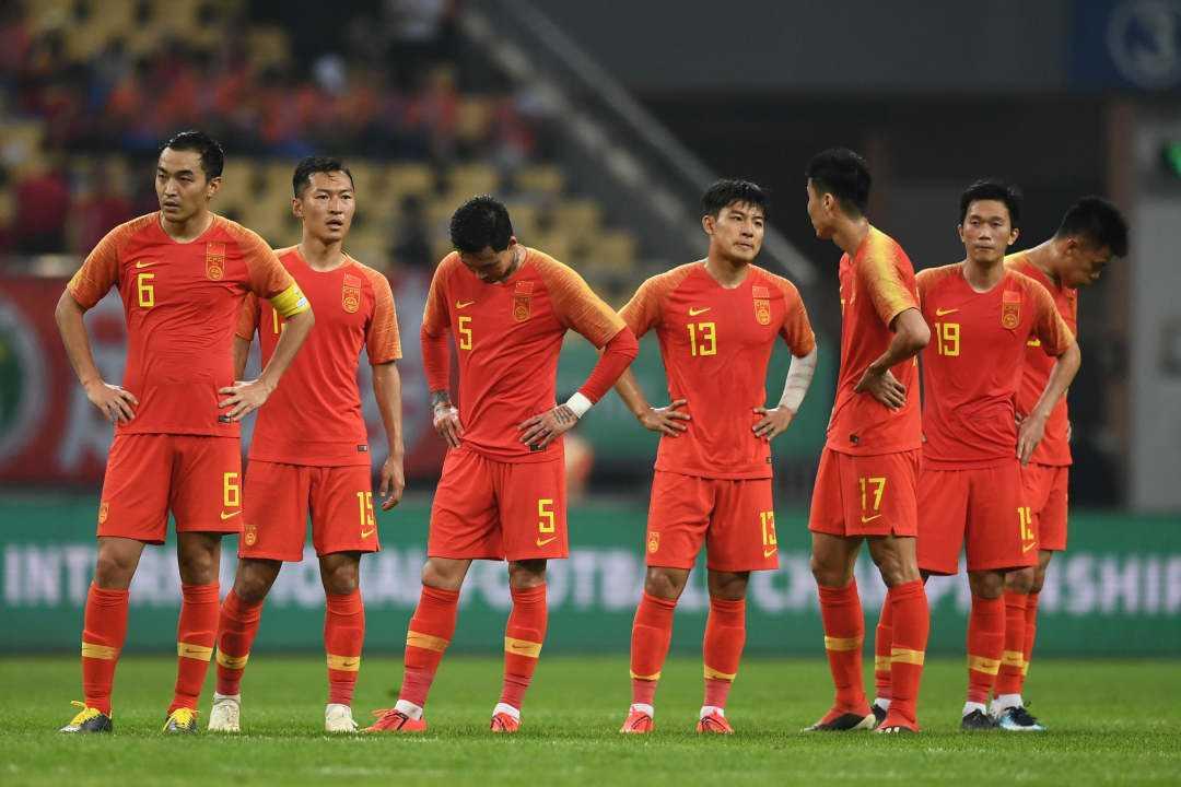 FIFA年终排名:国足世界第76,亚洲第9